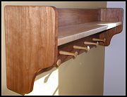 Cherry Coat Rack