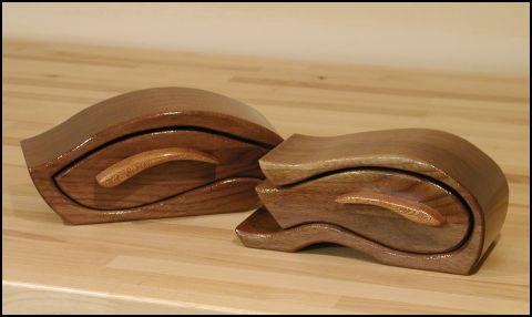 Walnut Bandsaw Boxes